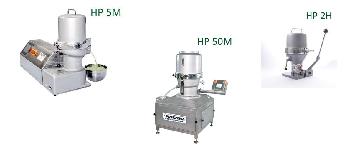 Handpresse oder automatische Tinkturenpresse